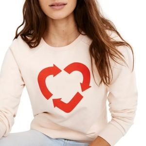 Madewell X charity: Water Sweatshirt XS